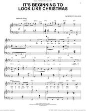 Cover icon of It's Beginning To Look Like Christmas [Jazz Version] (arr. Brent Edstrom) sheet music for voice and piano (High Voice) by Meredith Willson and Brent Edstrom, intermediate skill level