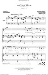 Cover icon of In Christ Alone (arr. James Koerts) sheet music for choir (SATB: soprano, alto, tenor, bass) by Michael English, James Koerts, Don Koch and Shawn Craig, intermediate skill level