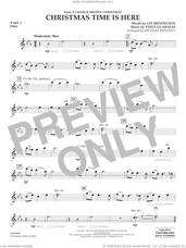 Cover icon of Christmas Time Is Here (arr. Michael Sweeney) sheet music for concert band (pt.1 - flute) by Vince Guaraldi, Michael Sweeney and Lee Mendelson, intermediate skill level
