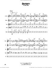 Cover icon of Dexterity sheet music for chamber ensemble (Transcribed Score) by Charlie Parker, intermediate skill level