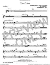 Cover icon of True Colors (arr. Mac Huff) (complete set of parts) sheet music for orchestra/band by Cyndi Lauper, Billy Steinberg, Mac Huff and Tom Kelly, intermediate skill level