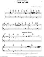 Cover icon of Love Goes (feat. Labrinth) sheet music for voice, piano or guitar by Sam Smith, Labrinth and Timothy Lee McKenzie, intermediate skill level