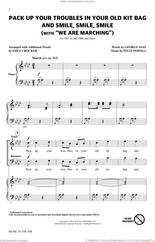 Cover icon of Pack Up Your Troubles In Your Old Kit Bag And Smile, Smile, Smile (from Music In The Air) sheet music for choir (TB: tenor, bass) by Emily Crocker, Felix Powell and George Asaf, intermediate skill level