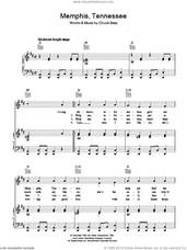 Cover icon of Memphis Tennessee sheet music for voice, piano or guitar by Chuck Berry, intermediate skill level
