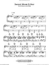 Cover icon of Second, Minute Or Hour sheet music for voice, piano or guitar by Jack Penate, intermediate skill level