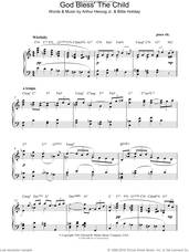 Cover icon of God Bless' The Child sheet music for piano solo by Billie Holiday and Arthur Herzog Jr., intermediate skill level
