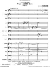 Cover icon of When A Child Is Born (Soleado) (COMPLETE) sheet music for orchestra/band (chamber ensemble) by Audrey Snyder, Fred Jacobson, Zacar and Andrea Bocelli, intermediate skill level