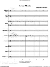 Cover icon of Advent Alleluia (COMPLETE) sheet music for orchestra/band (Special) by Keith Christopher and Miscellaneous, intermediate skill level
