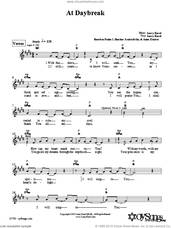 Cover icon of At Daybreak sheet music for voice and other instruments (fake book) by Larry Karol, intermediate skill level