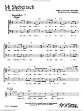 Cover icon of Mi Shebeirach sheet music for choir (2-Part) by Shir Harmony, intermediate duet