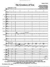 Cover icon of The Greatness Of You (COMPLETE) sheet music for orchestra/band (Orchestra) by Harold Ross, Erik Cooper and Nathan LaGrange, intermediate skill level