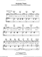 Cover icon of Anybody There sheet music for voice, piano or guitar by The Script and Mark Sheehan, intermediate skill level
