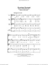 Cover icon of Sunrise, Sunset (from Fiddler On The Roof) sheet music for choir (SSA: soprano, alto) by Bock & Harnick, Jerry Bock and Sheldon Harnick, intermediate skill level