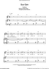 Cover icon of Suo Gan sheet music for voice, piano or guitar by Charlotte Church, intermediate skill level