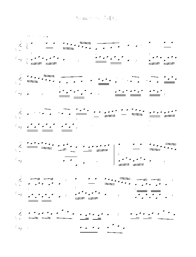 Sonatina in F major sheet music for piano solo by Ludwig van Beethoven, classical score, easy/intermediate skill level