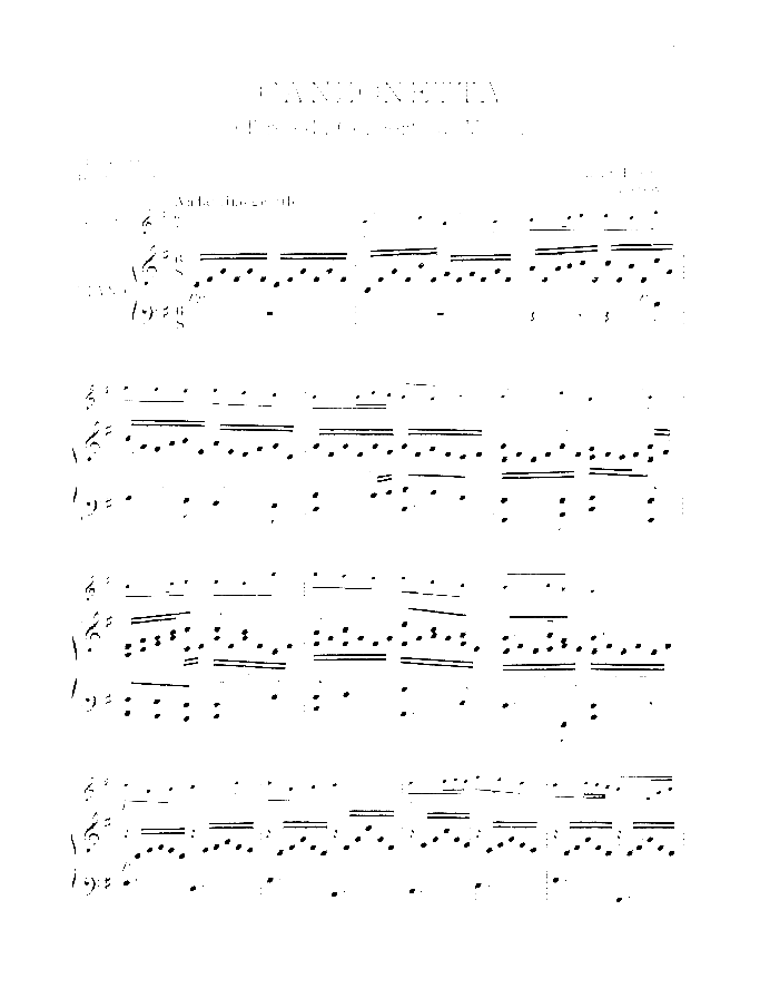 Canzonetta sheet music for violin and piano by Luigi Boccherini, classical score, intermediate/advanced skill level
