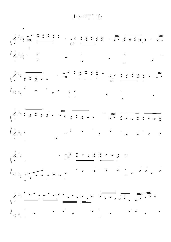 Joy Of Life sheet music for piano solo by Hans-Gunter Heumann, easy/intermediate skill level