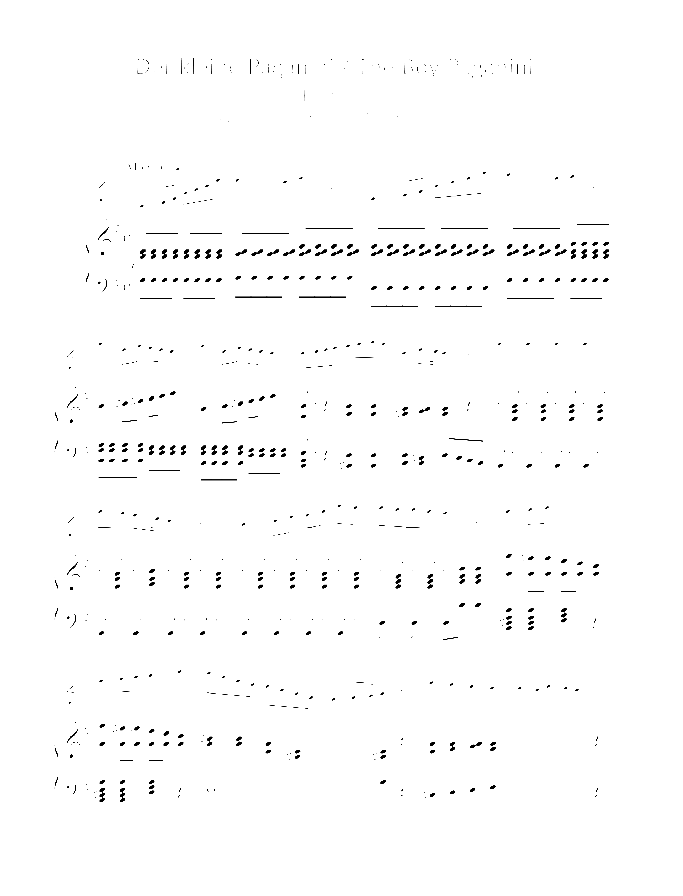 The Boy Paganini sheet music for violin and piano by Edward Mollenhauer, classical score, easy/intermediate skill level