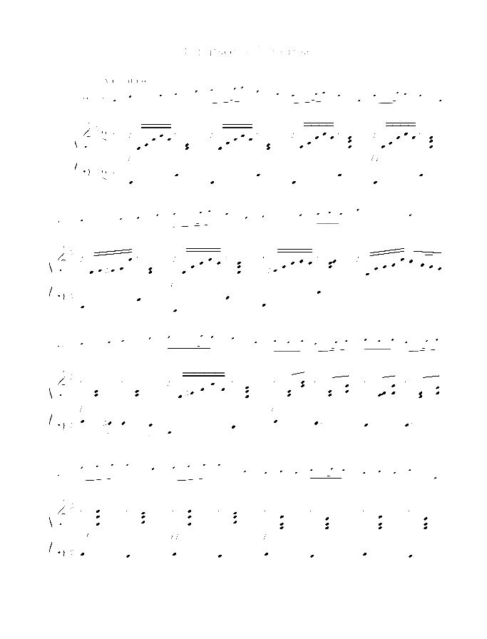 Chanson villageoise sheet music for cello and piano by Arnold Trowell, classical score, easy/intermediate skill level