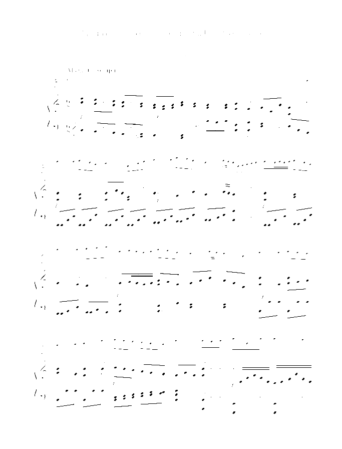 Song Without Words sheet music for flute and piano by Wilhelm Popp, classical score, easy/intermediate skill level