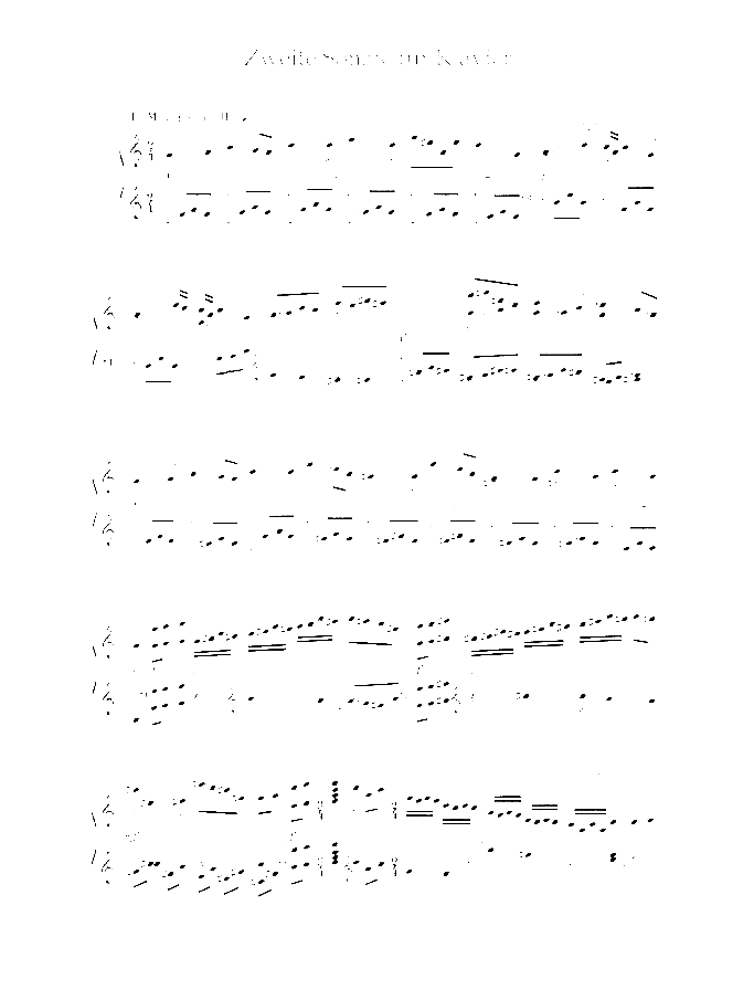 Sonata No. 2 sheet music for piano solo by Paul Hindemith, classical score, easy/intermediate skill level