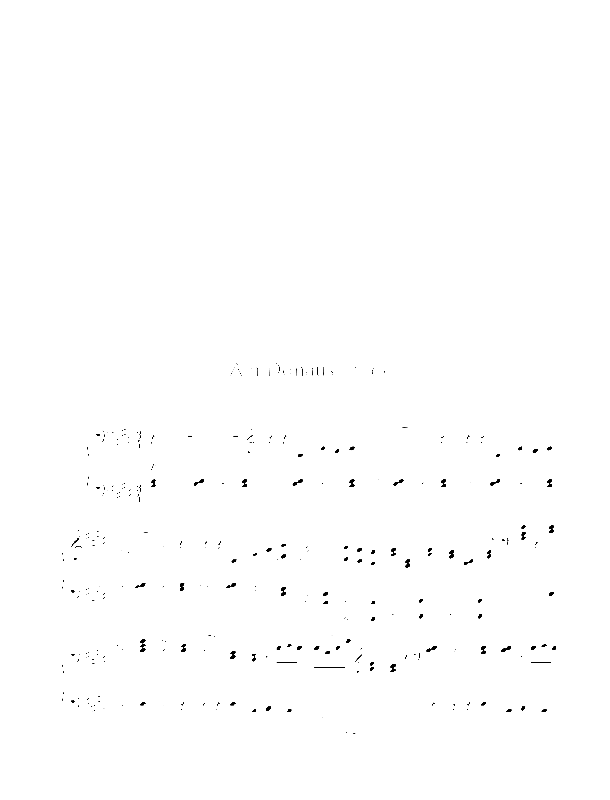 By Danube's Water sheet music for piano four hands by Johannes Brahms, classical score, easy/intermediate skill level