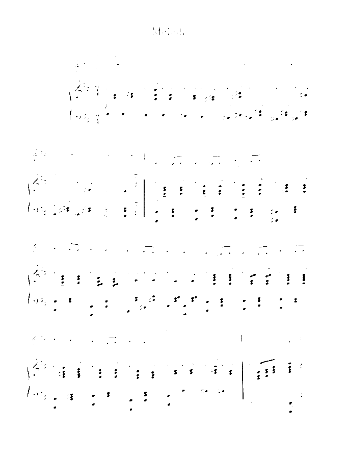 Melody in F sheet music for violin (cello) and piano by Anton Rubinstein, classical score, advanced skill level