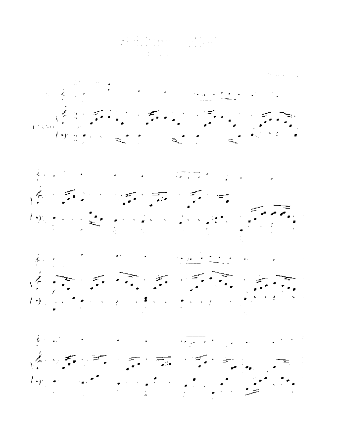 Slumber song sheet music for violin and piano by Robert Schumann, classical score, advanced skill level