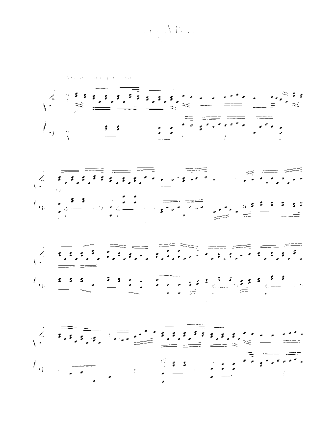 Les Adieux sheet music for piano solo by Johann Ladislau Dussek, classical score, easy/intermediate skill level