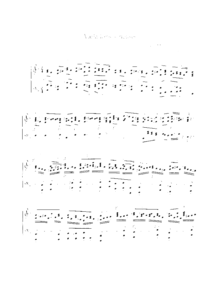 Variations serieuses sheet music for piano solo by Felix Mendelssohn-Bartholdy, classical score, advanced skill level