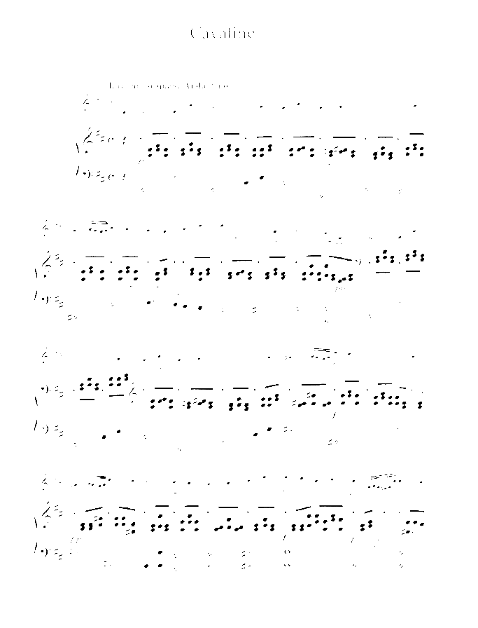 Cavatine sheet music for violin (cello) and piano by Joseph Joachim Raff, classical score, easy/intermediate skill level