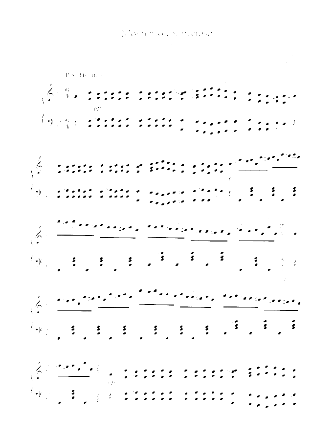Momento capriccioso sheet music for piano solo by Carl Maria Von Weber, classical score, advanced skill level