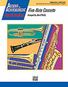 Five-Note Concerto (COMPLETE) for concert band - trombone concerto sheet music