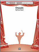 Crusade for concert band (full score) - jazz concert band sheet music