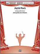 Cover icon of Joyful Rock sheet music for concert band (full score) by Anonymous and Scott Watson, beginner skill level