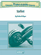 Cover icon of Starfleet sheet music for string orchestra (full score) by Richard Meyer, easy skill level