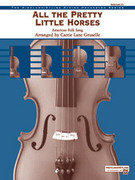 Cover icon of All the Pretty Little Horses sheet music for string orchestra (full score) by Anonymous, easy/intermediate skill level