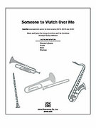 Someone to Watch Over Me (COMPLETE) for Choral Pax - christmas drums sheet music