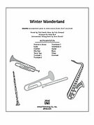 Winter Wonderland (COMPLETE) for Choral Pax - christmas drums sheet music
