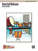 Cover icon of Celestial Welcome (COMPLETE) sheet music for percussions by Kristen Shiner McGuire, advanced skill level