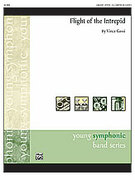 Cover icon of Flight of the Intrepid (COMPLETE) sheet music for concert band by Vince Gassi, easy/intermediate skill level