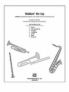 Cover icon of Walkin' On Up (COMPLETE) sheet music for Choral Pax by Sally K. Albrecht, easy/intermediate skill level
