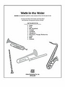 Cover icon of Wade in the Water (COMPLETE) sheet music for Choral Pax by Anonymous, classical score, easy/intermediate skill level