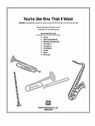 Cover icon of You're the One That I Want sheet music for Choral Pax (full score) by John Farrar and Alan Billingsley, easy/intermediate skill level