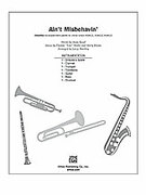 Cover icon of Ain't Misbehavin' (COMPLETE) sheet music for Choral Pax by