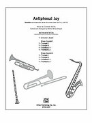 Cover icon of Antiphonal Joy sheet music for Choral Pax (full score) by Giovanni Anerio and Patrick Liebergen, classical score, easy/intermediate skill level