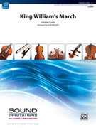 Cover icon of King William's March (COMPLETE) sheet music for string orchestra by Jeremiah Clarke, classical score, easy skill level