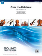 Cover icon of Over the Rainbow, from The Wizard of Oz (COMPLETE) sheet music for string orchestra by Harold Arlen and E.Y. Harburg, wedding score, easy/intermediate skill level
