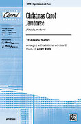 Cover icon of Christmas Carol Jamboree (A Holiday Hoedown) sheet music for choir (3-Part Mixed) by Anonymous, intermediate skill level