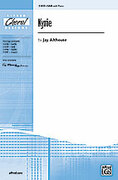 Cover icon of Kyrie sheet music for choir (SAB: soprano, alto, bass) by Jay Althouse, intermediate skill level